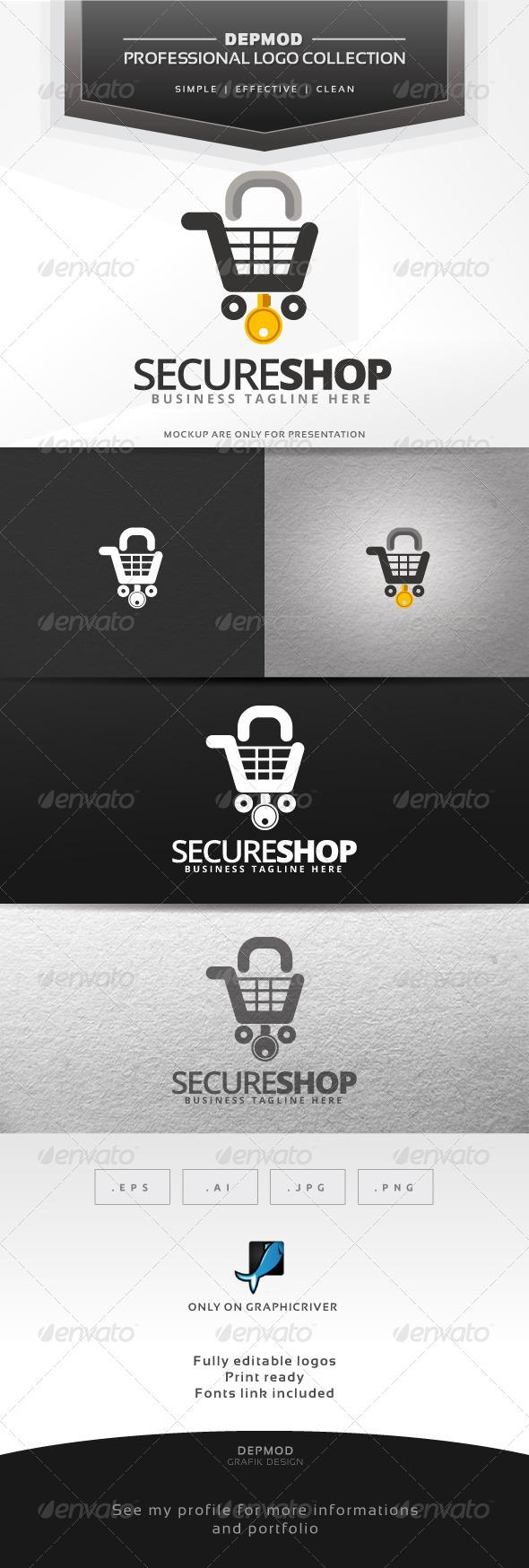 Secure Shop Logo
