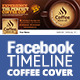 Coffee Shop Facebook Timeline Cover - GraphicRiver Item for Sale