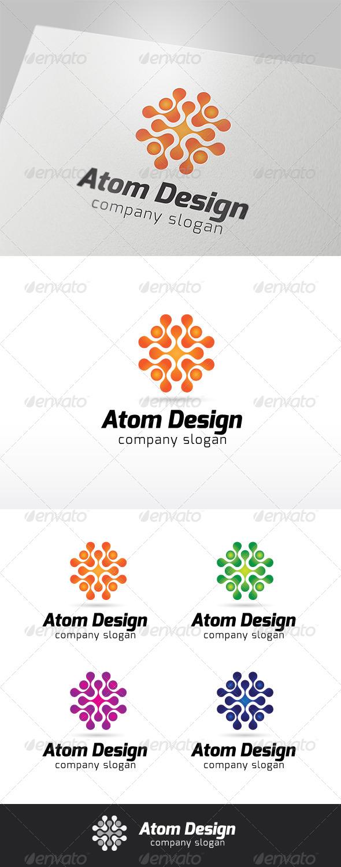 Atom Design Logo