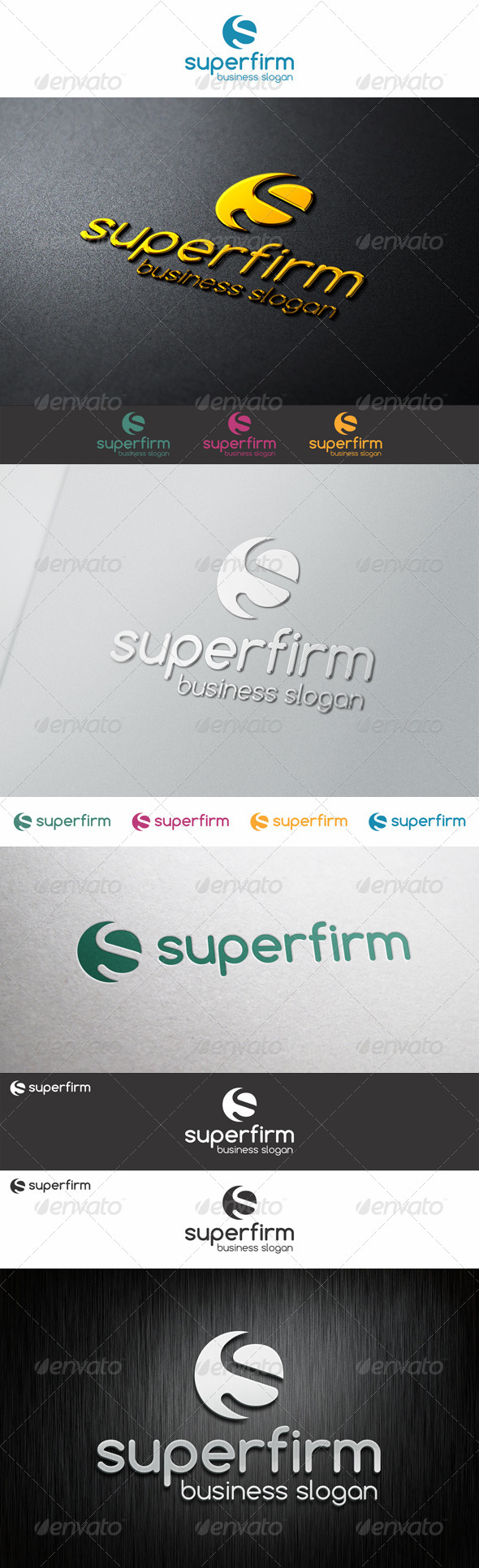 S Logo Shape - Super Firm
