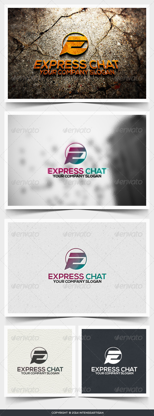 Express Chat Logo Template