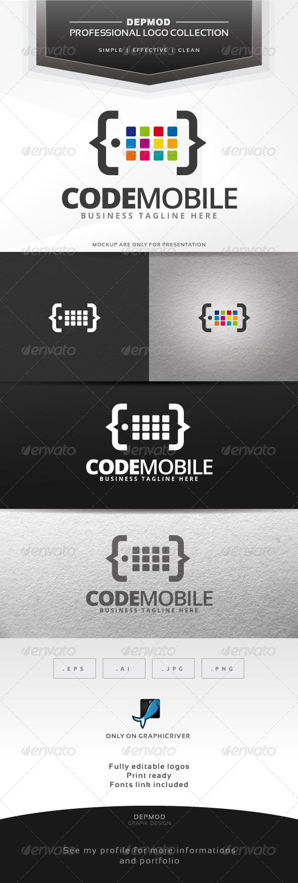 Code Mobile Logo