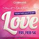 Valentine's Day Event Flyer, Postcard, Banner - GraphicRiver Item for Sale