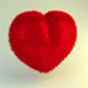 Plush Heart - 3DOcean Item for Sale