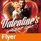Valentine's Insane Love - Flyer - GraphicRiver Item for Sale