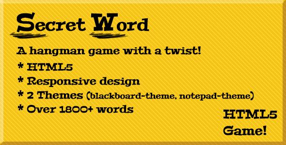 Secret Word (a hangman game) Download