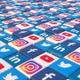 Social Media Blocks Background - Version 5 - VideoHive Item for Sale