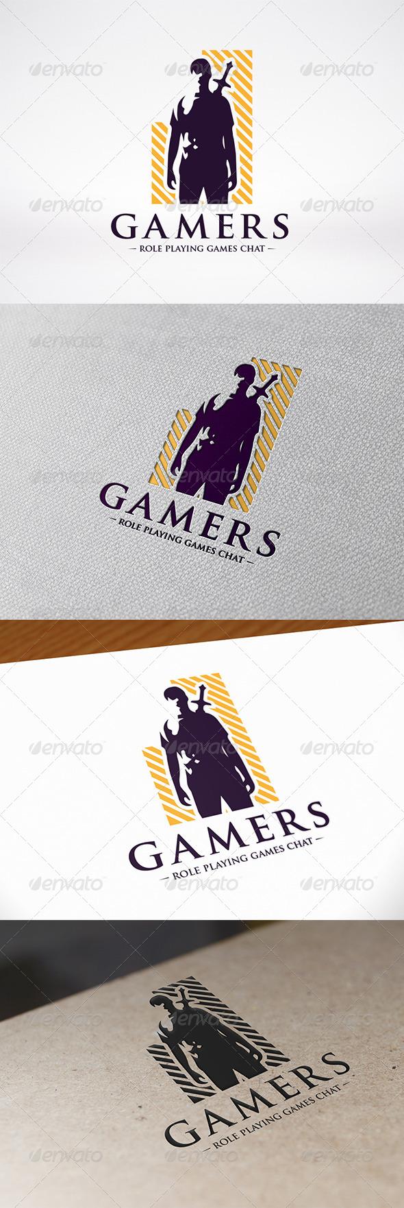Video Games Logo Template