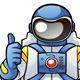 Astronaut - GraphicRiver Item for Sale