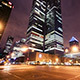 Montreal Night time Skyscraper Busy Street City - VideoHive Item for Sale