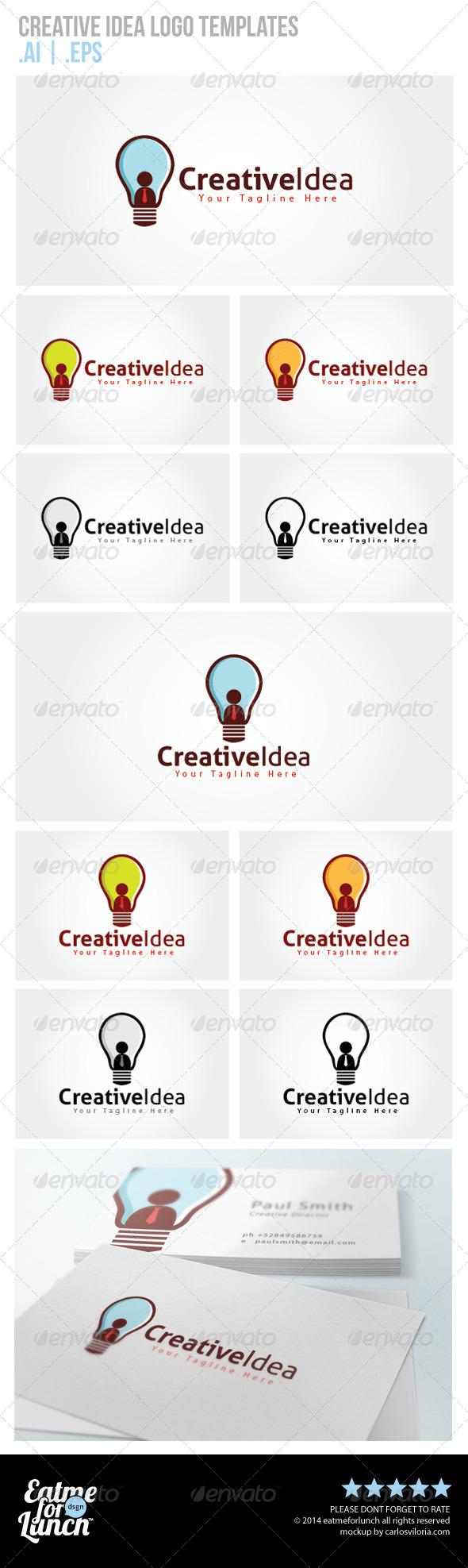 Creative Idea Logo Templates