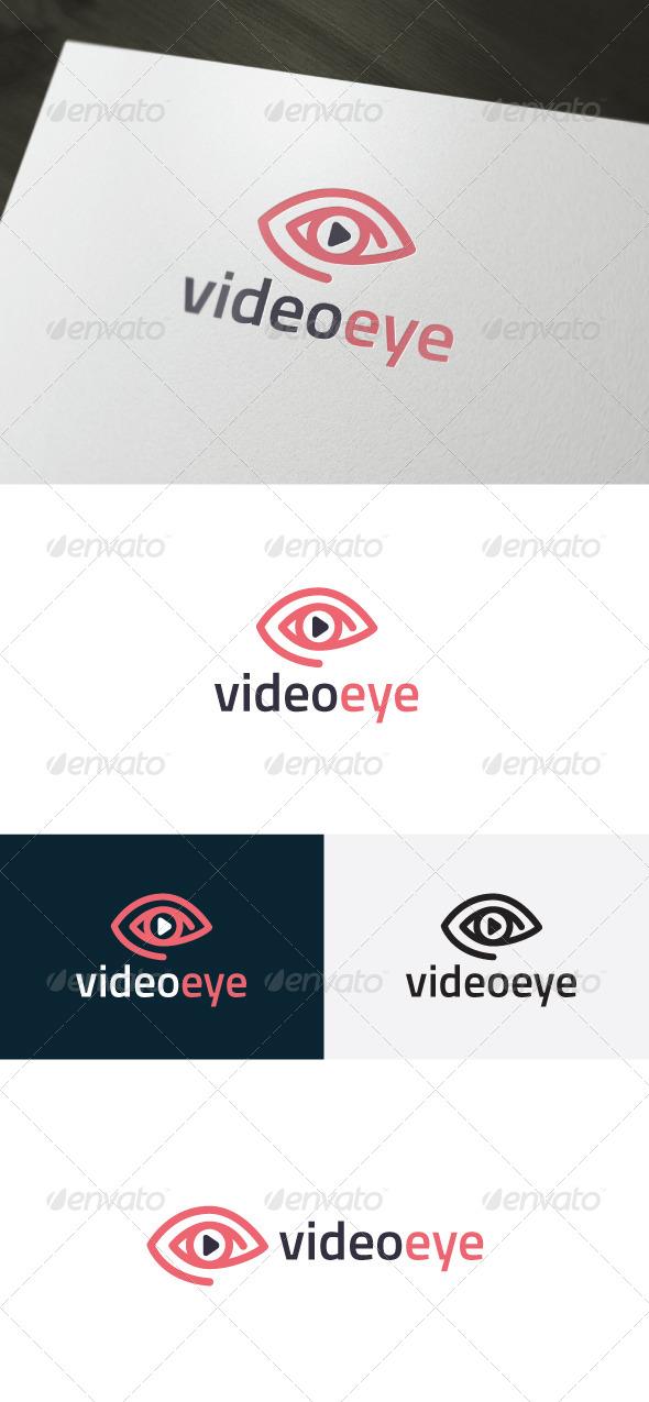 Video Eye Logo
