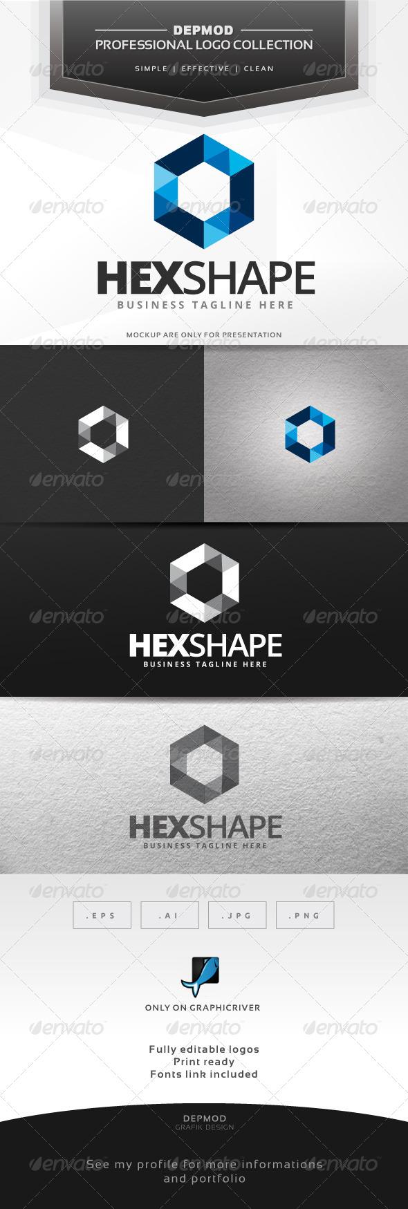 Hex Shape Logo