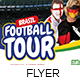Football Cup Tour Flyer Template - GraphicRiver Item for Sale