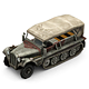 Military Modern War Transport Truck (Red) - 3DOcean Item for Sale