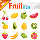 Fruit Icons - GraphicRiver Item for Sale