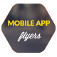 Mobile Application Promotion Flyers / Phone App 2 - GraphicRiver Item for Sale