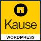Kause - Multi Purpose WordPress Theme - ThemeForest Item for Sale