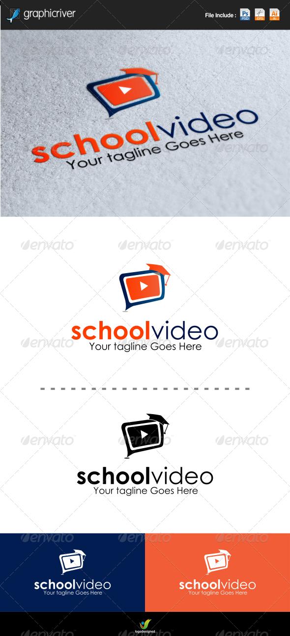School Video Logo Template