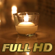 Candle Light in a Wedding Setup - VideoHive Item for Sale
