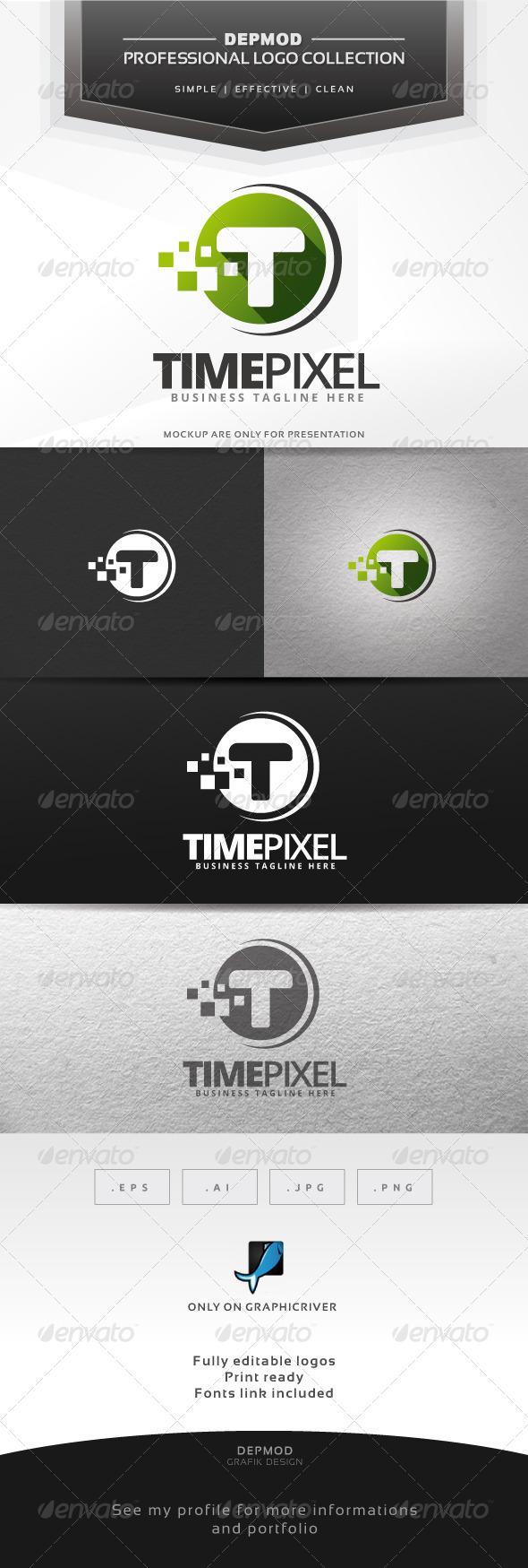 Time Pixel Logo