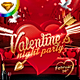 Valentines Night Party Flyer Template - GraphicRiver Item for Sale