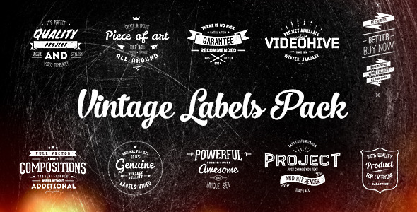 After Effects Retro Title Templates from VideoHive