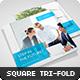 Square Corporate Tri-fold Brochure - GraphicRiver Item for Sale