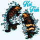 Koi Fish Tattoo Style - GraphicRiver Item for Sale
