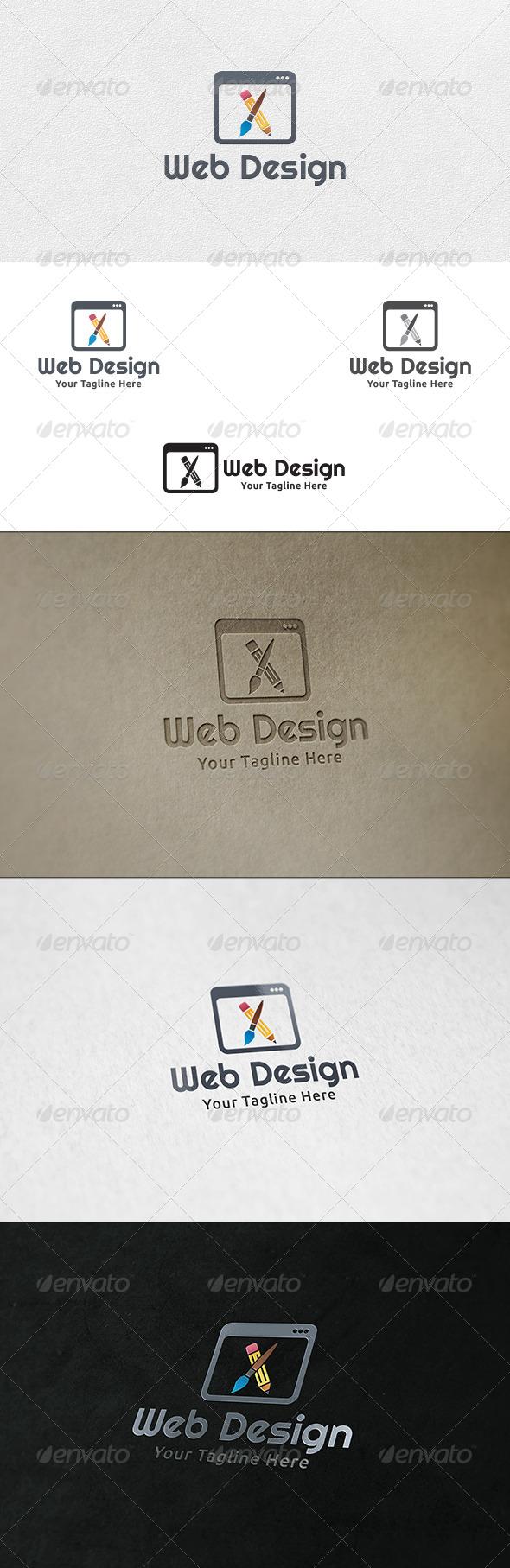 Web Designing - Logo Template