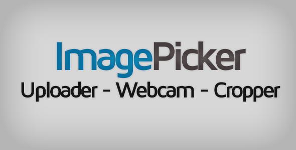 ImagePicker: Uploader - Webcam - Cropper