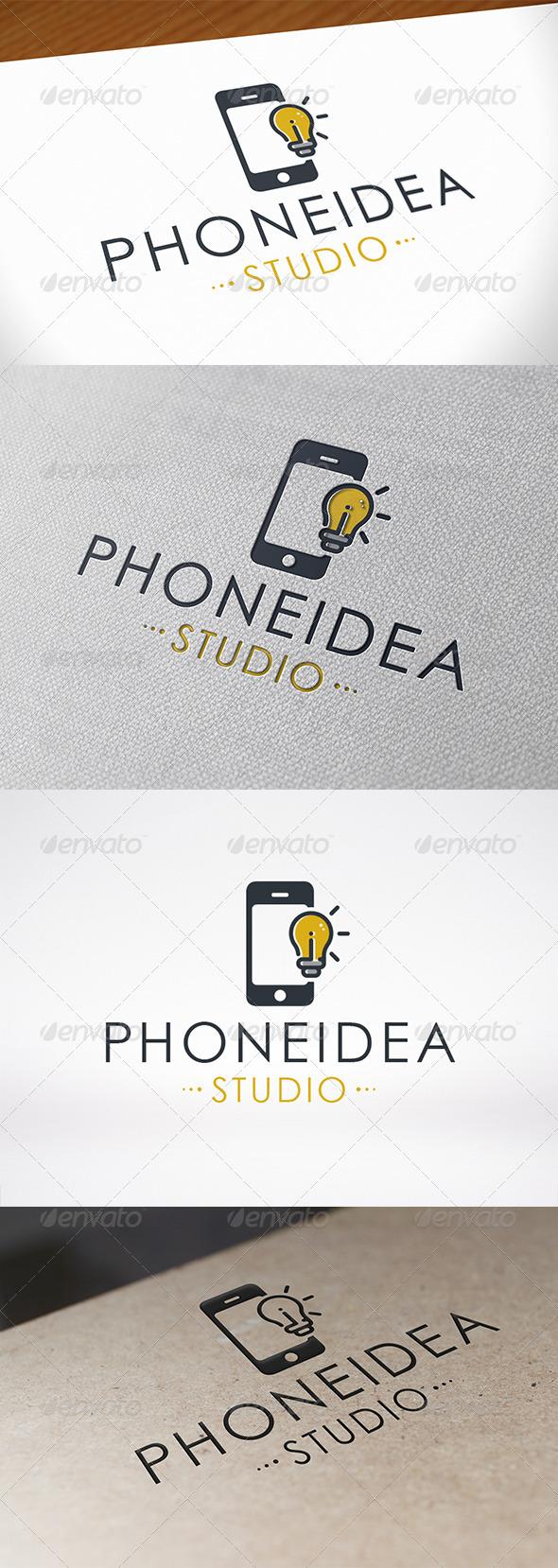 Phone Idea Logo Template