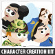 Character Creation Kit - GraphicRiver Item for Sale