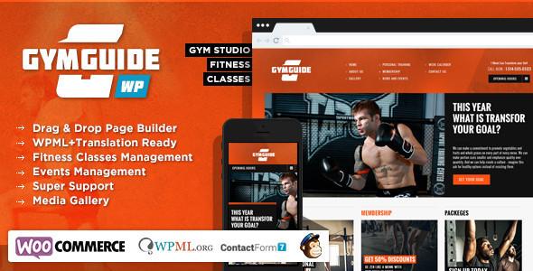 Gym Guide - Fitness Sport Wordpress Theme