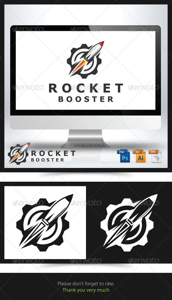 Rocket Booster Logo