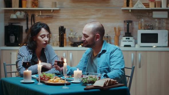 Spending Tender Moments at Dinner