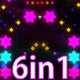 Vj Star Light Background - VideoHive Item for Sale