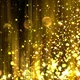 Abstract Gold Background with Glitter Particles  - VideoHive Item for Sale