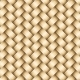 Vector Wickerwork Golden Metallic Background - GraphicRiver Item for Sale