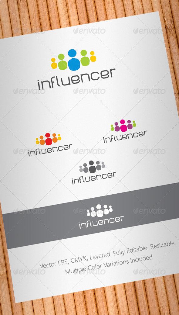 Social Media Influencer Logo Template