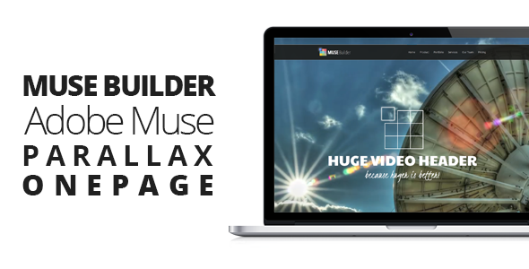 Parallax Adobe Muse Themes & Muse Templates from ThemeForest