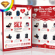 Valentines Product Sale / Promotion Flyer - GraphicRiver Item for Sale