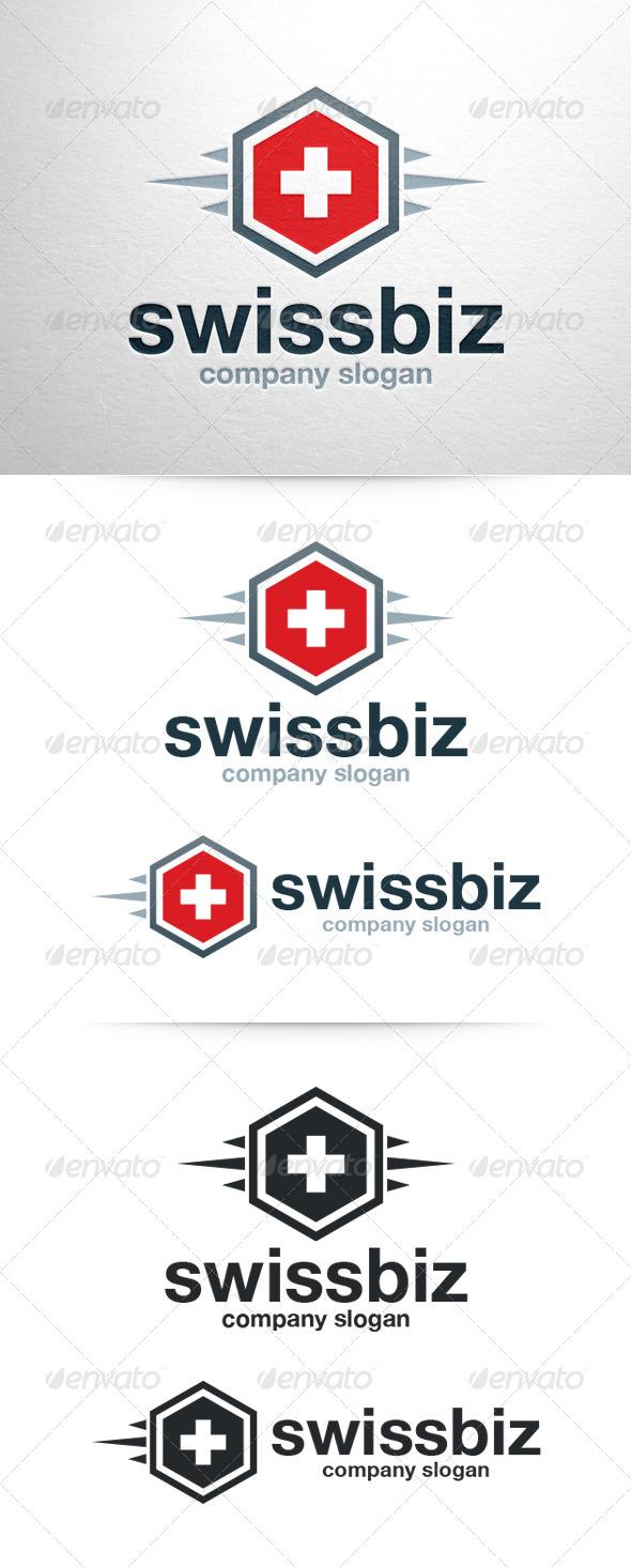 Swiss Biz Logo Template