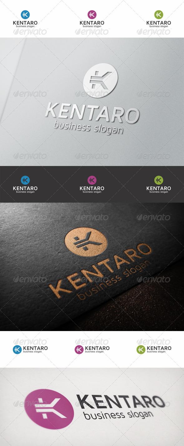 K Logo Letter - Kentaro