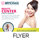 Plastic Surgery Clinic Flyer Template - GraphicRiver Item for Sale