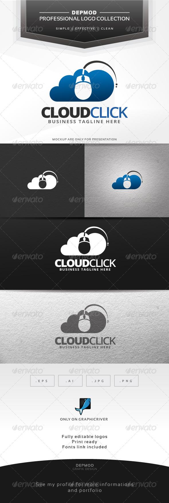 Cloud Click Logo