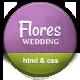 Flores - Elegant Wedding Template - ThemeForest Item for Sale