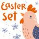 Easter Set - GraphicRiver Item for Sale