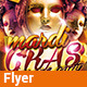 Mardi Gras - Insane Party v01 - Flyer - GraphicRiver Item for Sale