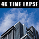Skyscraper with Moving Clouds - VideoHive Item for Sale